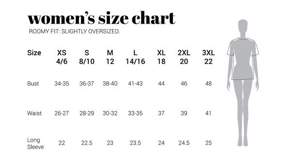 30a sizechart women slightlyoversized original