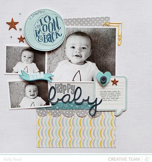 Happy baby   studio calico's storytime collection   kelly noel