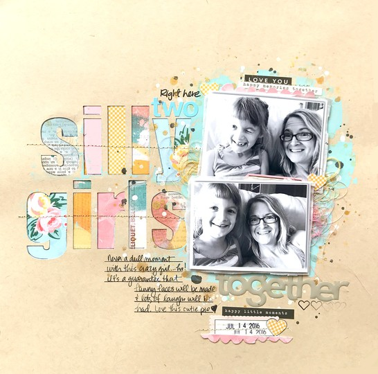 Sc two silly girls layout e original
