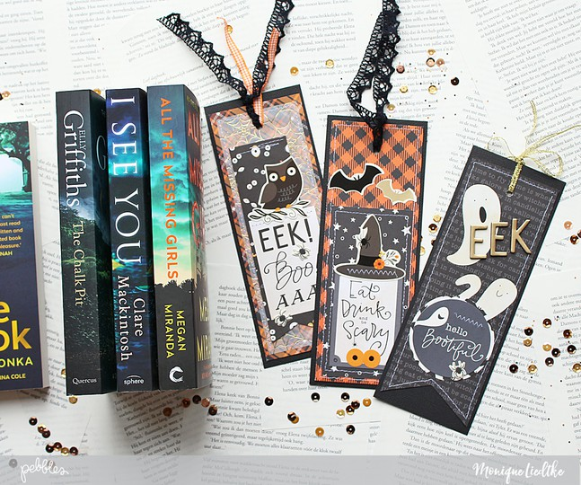 Moniqueliedtke pebbles bookmark groot original