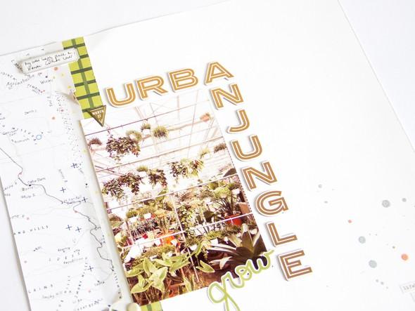 Urbanjungle scatteredconfetti scrapbooking layout gossamerblue pinkpaislee 4 original