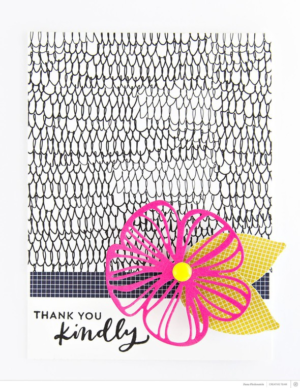 Card thank you kindly pixnglue original