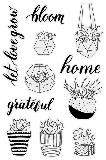 Plant therapy stamp set original