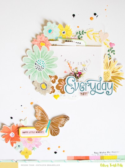 Everydaymoments scatteredconfetti scrapbooking layout citrustwistkits october pinkpaislee 1 original