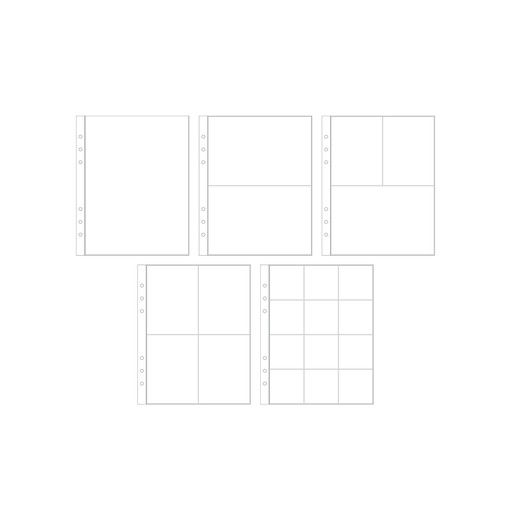 """Picture of 6x8"""" Multipack Page Protectors (10 Pack)"""
