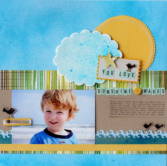 Sunshine and waves layout   jan sc   susan weinroth