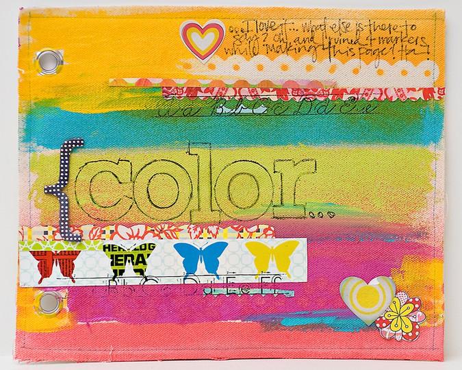 Color  art journal