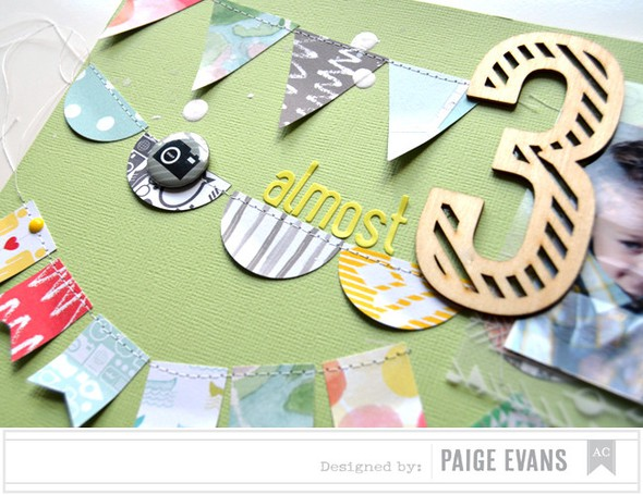 Almost 3 detail by paige evans