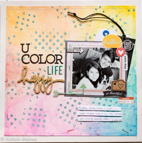U color life happy original