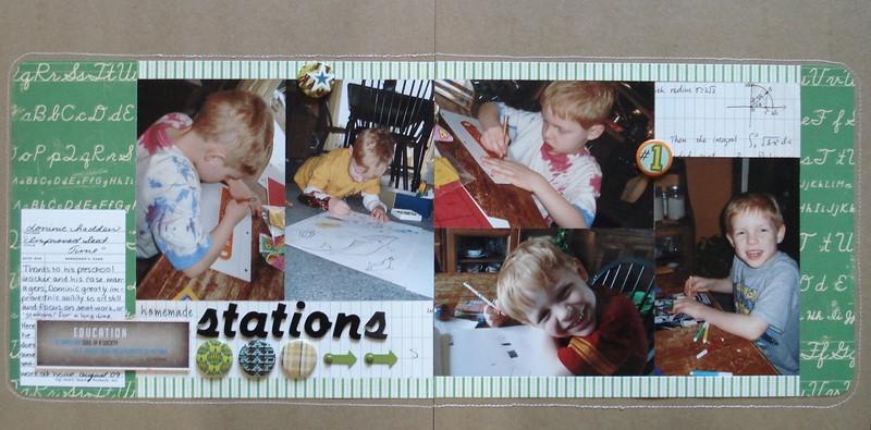 Homemade stations 1