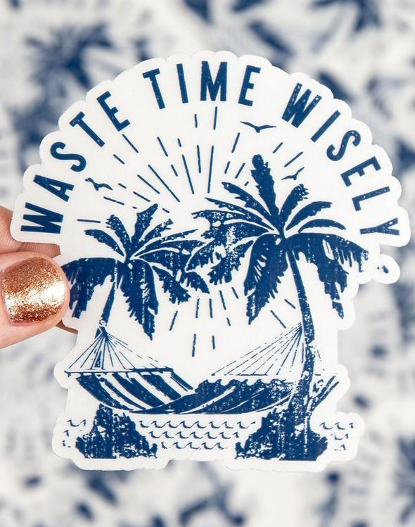 138406 wastetimewiselysticker slider1 original