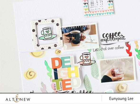 Altenew coffeelove layout005 original