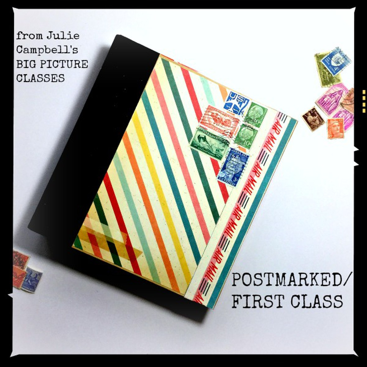Postmark binder original