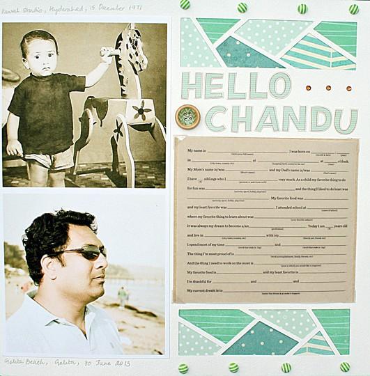 Chandu layout