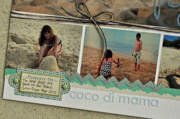 Beach playground journaling betsy gourley