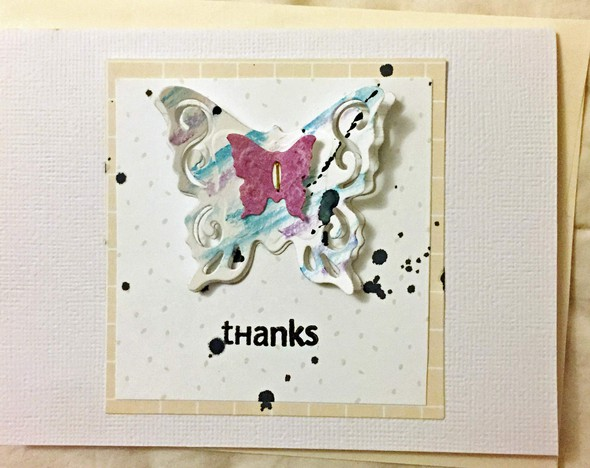 Thank you card original