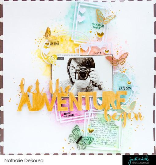 Jn let the adventure begin nathalie desousa original