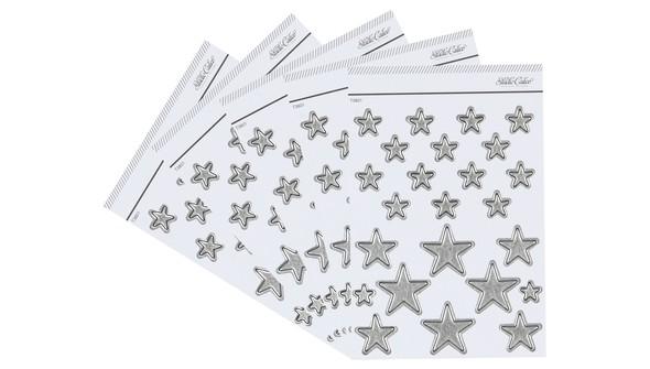 90087 silverfoilchipboardstarsx5 slider original