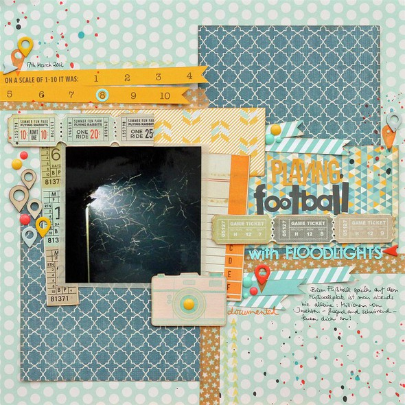 Playing football with floodlights   daphne   dapfniedesign   sc front row