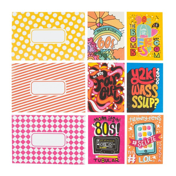 Sc shop journal cards decades 8693 original