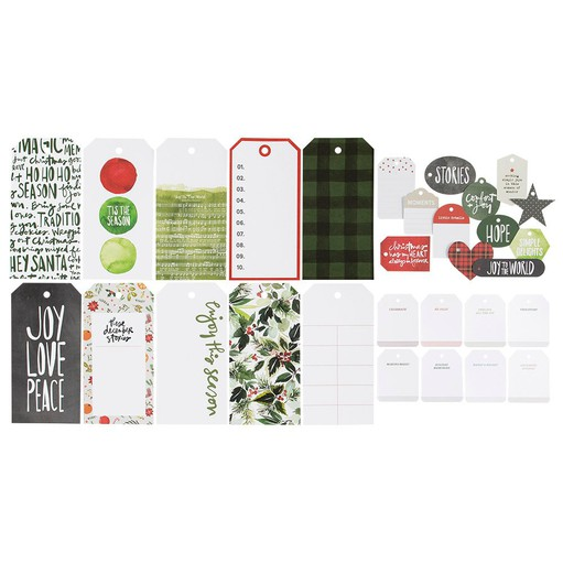 Picture of December Daily® 2021 Shipping Tag Die Cut Bundle