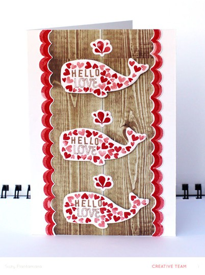 Hello love card