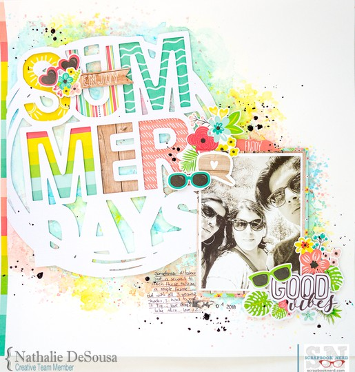 Sn summer days nathalie desousa original