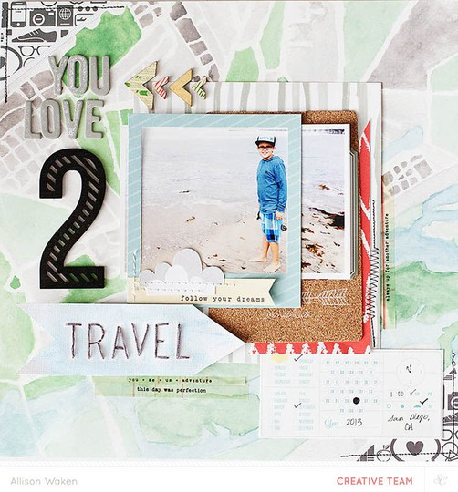 Allison waken you love 2 travel 1