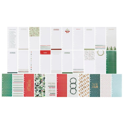 Picture of December Daily® 2021 3x8 Transparency & Journal Card Set