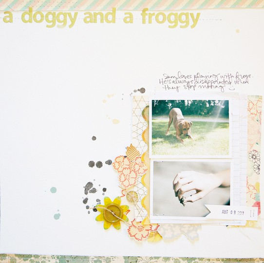 Marcy penner a doggy and a froggy