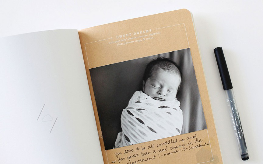 Bbb baby journal filmstrip 4 original