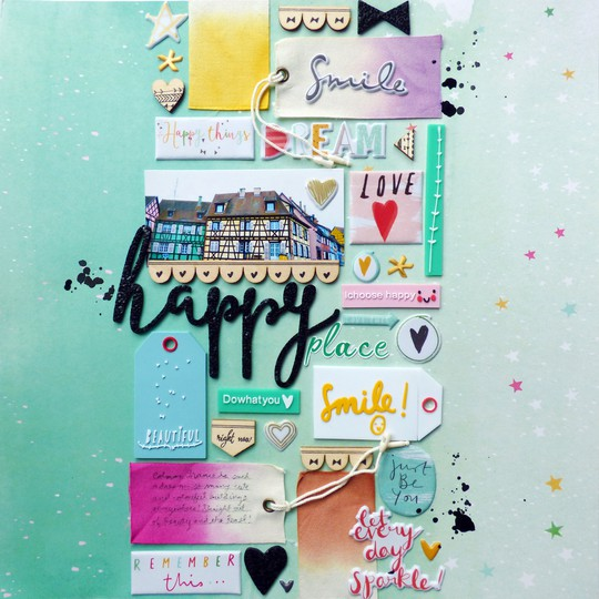 Happy place by paige evans original