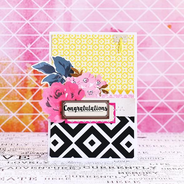 Congratulations card by natalie elphinstone original