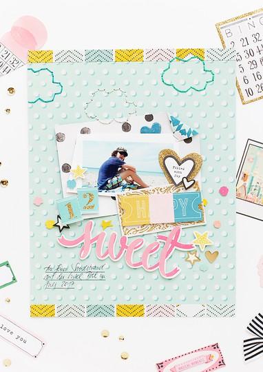 Sandra funwithembellies cratepaper scrapbooking original