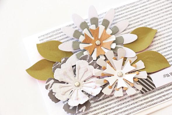 Layered flower details by natalie elphinstone original