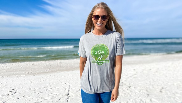 134200green beach blonde ale short sleeve tee women ash slider2 original