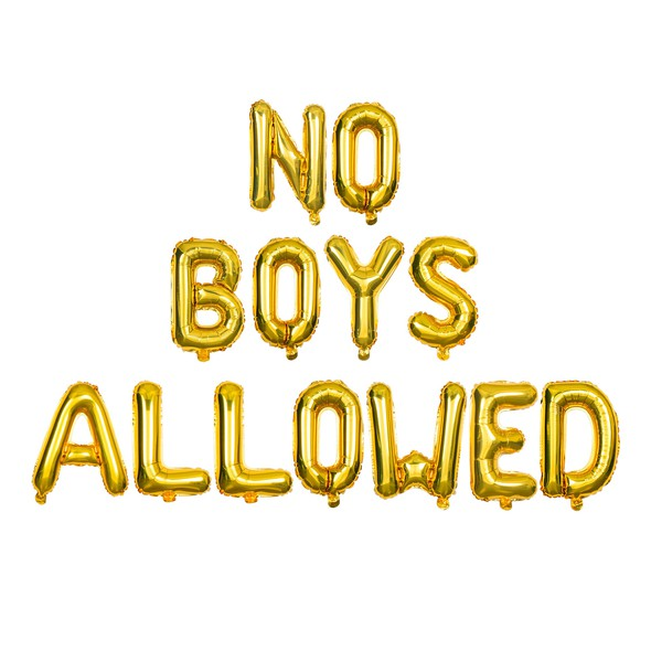 Sdiy shop balloons no boys allowed original