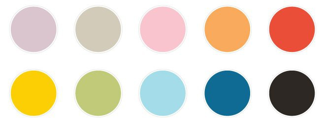 Color palette 2