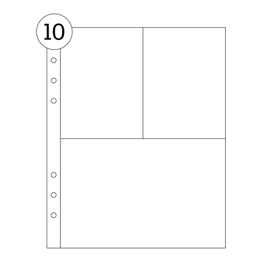 """Picture of 6x8""""  Page Protector 4A (6 ring)"""