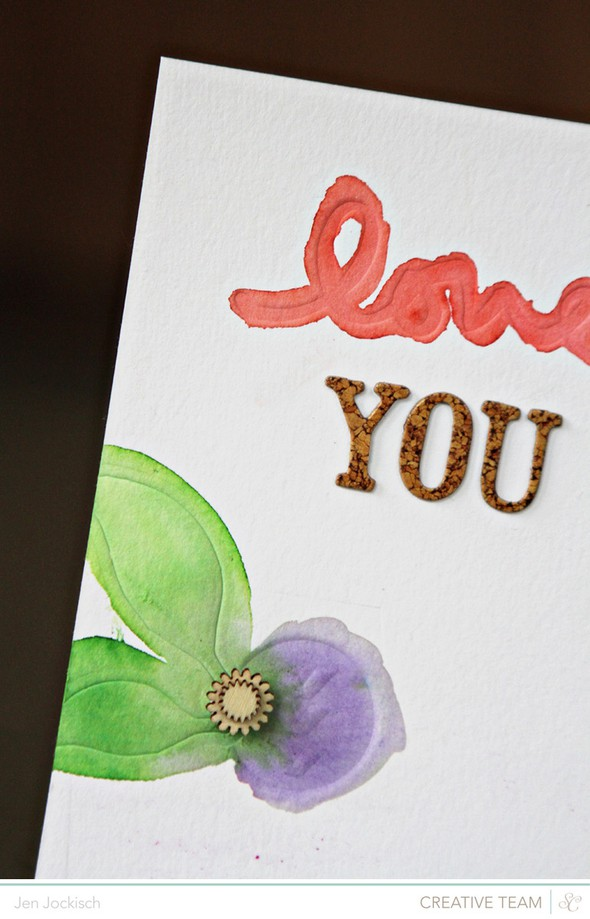 Loveyouletterpress detail