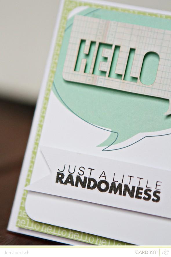 Randomnesscard detail