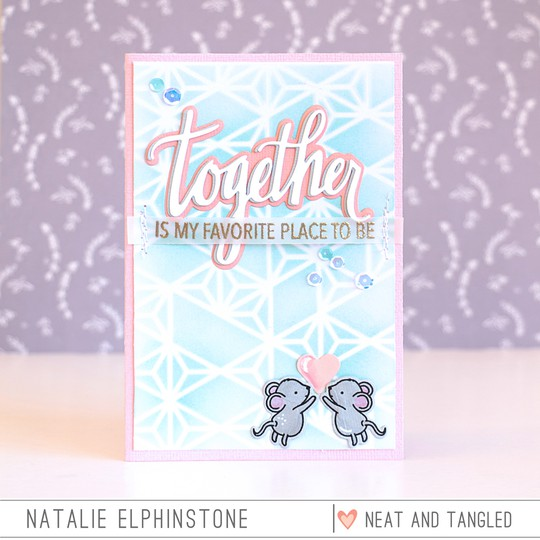 Together card by natalie elphinstone original