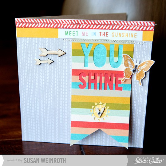 You shine card   susan weinroth