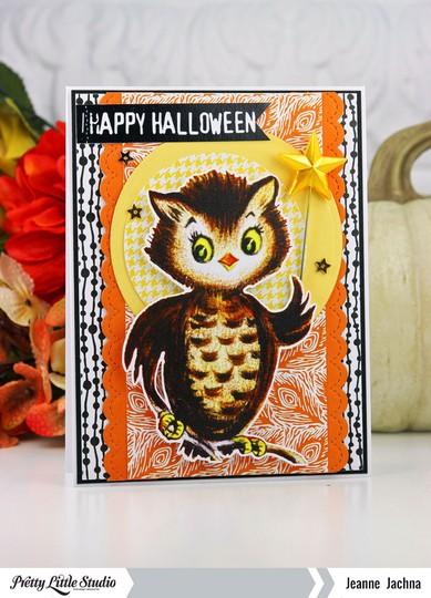 Halloween owl original