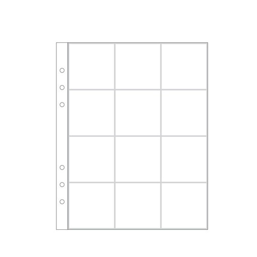 """Picture of 6x8"""" Page Protector 5A (6-rings)"""