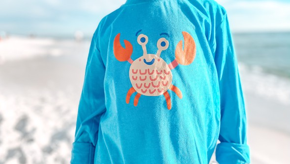 129028 crab long sleeve tee   kids   30a blue slider2 original