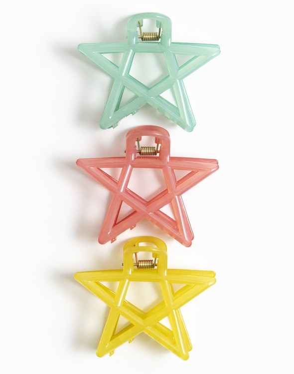 145542 set3starhairclipscolored original