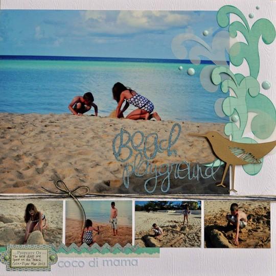 Beach playground betsy gourley