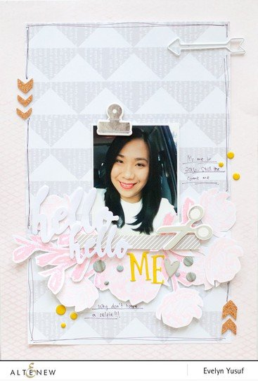 Hello me by evelynpy or altenew full layout original