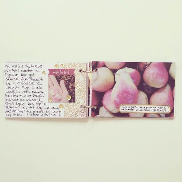 Glenlyon road trip mini book by mama finch 7 original